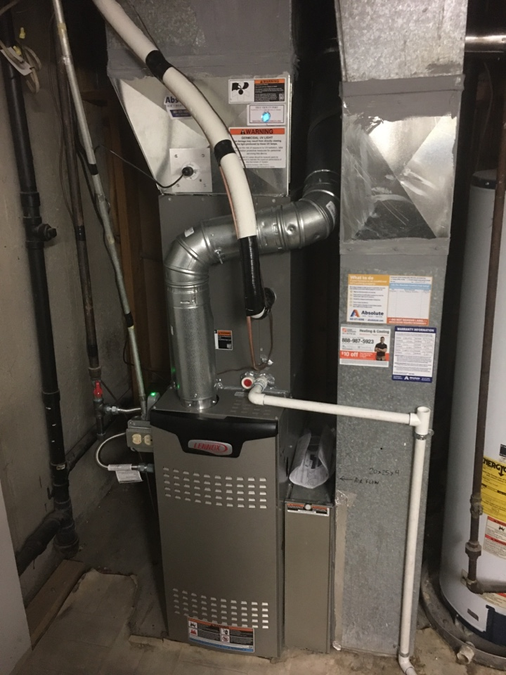 West Jordan, UT - New Lennox furnace and air conditioner install