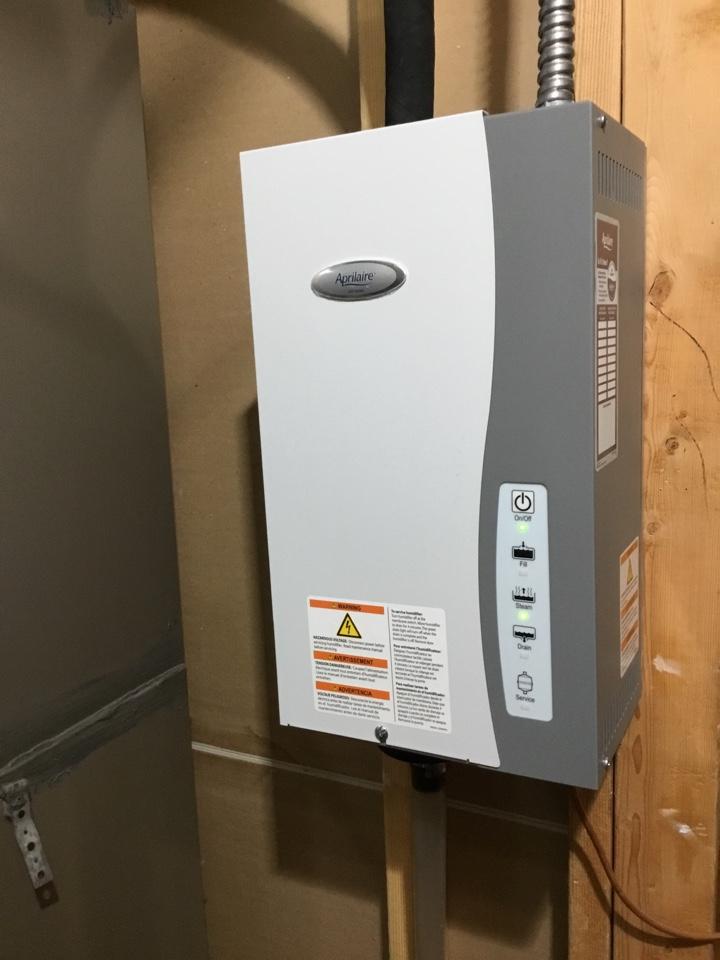 Springville, UT - Aprilaire humidifier repair