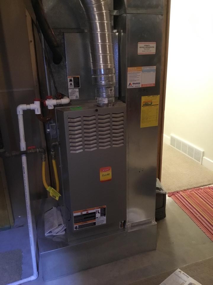Mapleton, UT - Bryant furnace tuneup