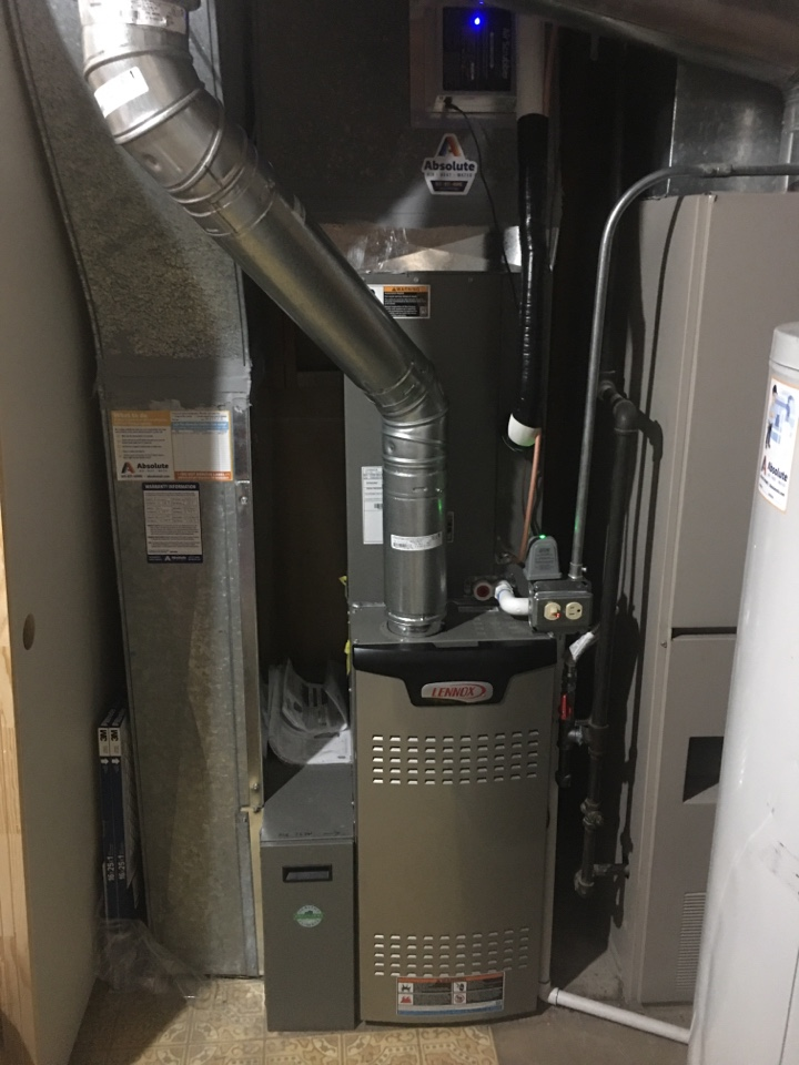 Springville, UT - New Lennox furnace and air conditioner install