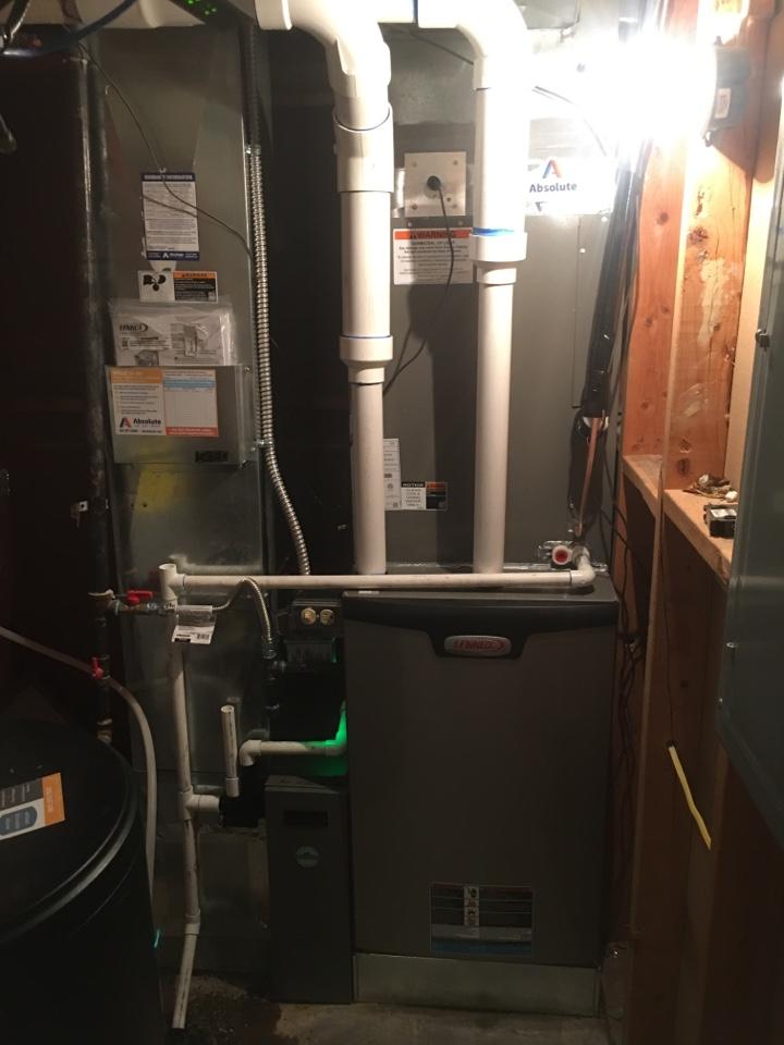 Cedar Hills, UT - New Lennox high efficiency furnace and air conditioner install