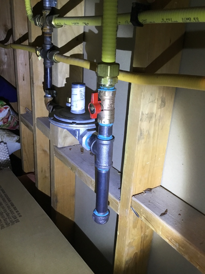 Pleasant Grove, UT - Gas line repair