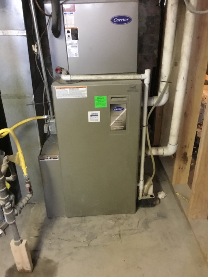 Provo, UT - Carrier furnace repair