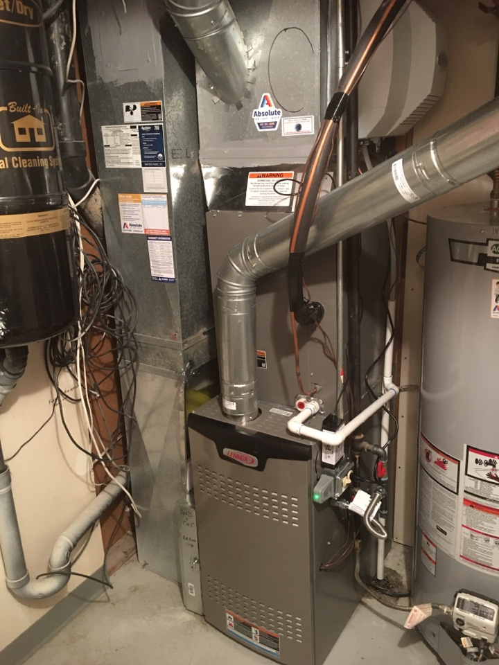 American Fork, UT - New Lennox furnace and air conditioner install