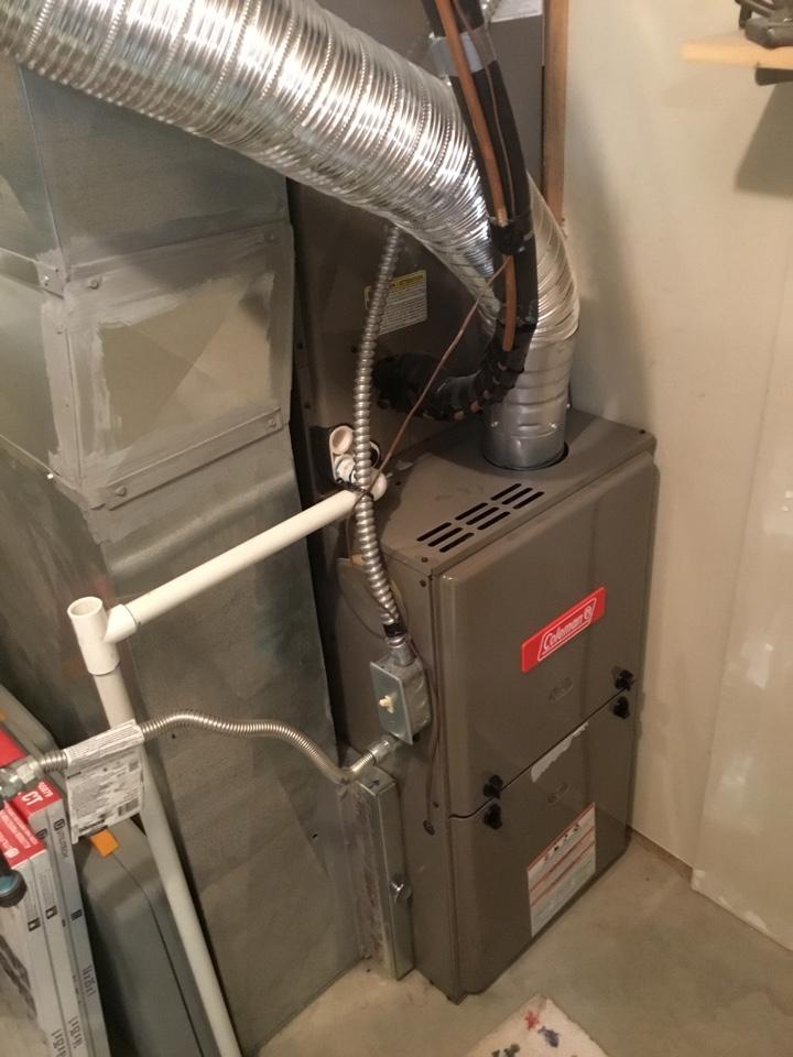 Mapleton, UT - Coleman furnace repair