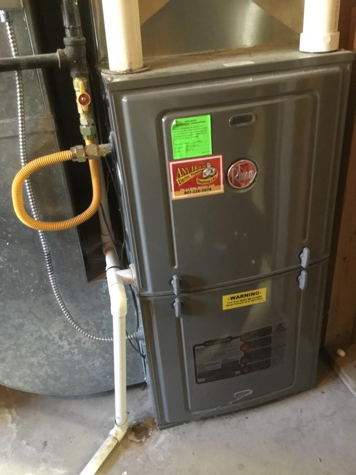 Cedar Hills, UT - Rheem furnace tuneup