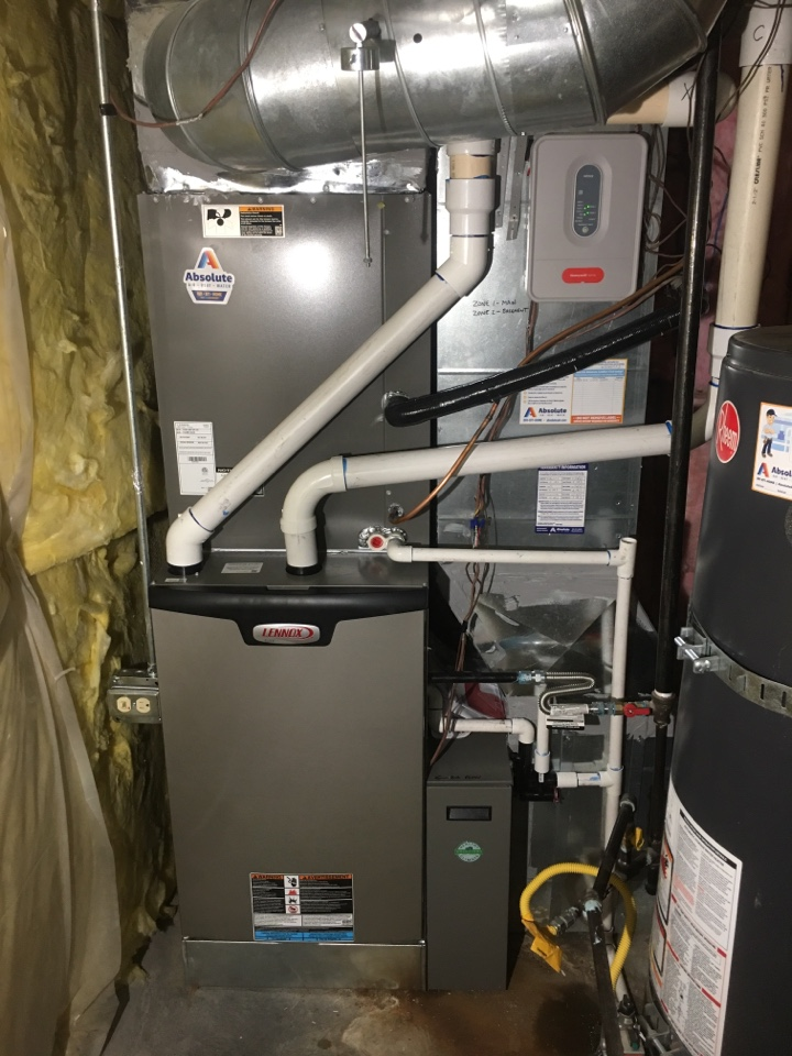 Lehi, UT - New Lennox high efficiency furnace and air conditioner install