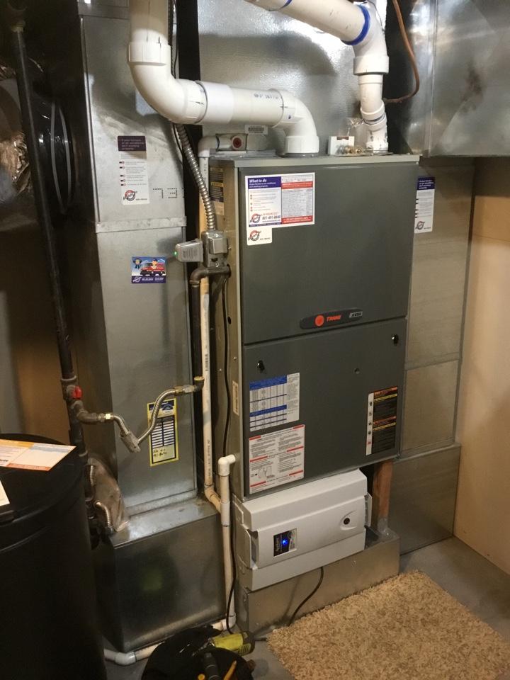 Mapleton, UT - Trane furnace tuneup