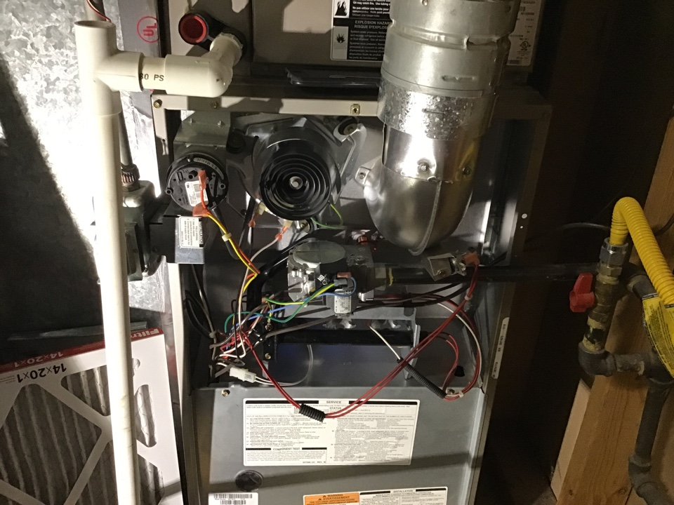 West Valley City, UT - Carrier furnace—replaced blower motor, capacitor, high limit switch, and performed a cleaning to restore this 13 year old furnace unit to like new condition!