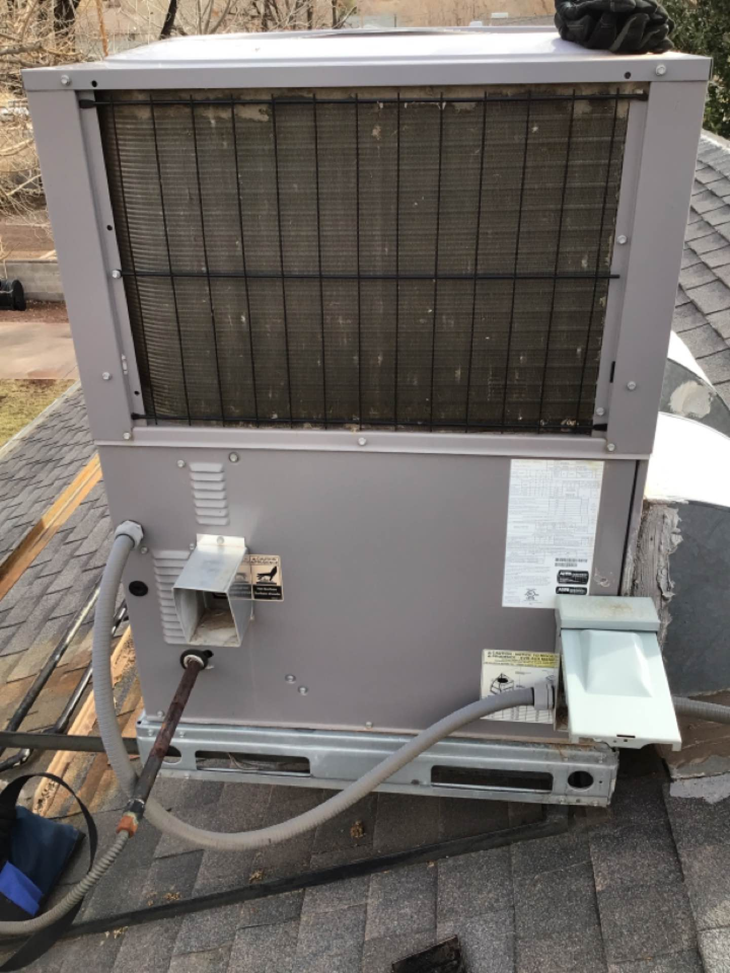 Santa Clara, UT - Furnace Tune U on 2014 Rooftop Gas Package Unit