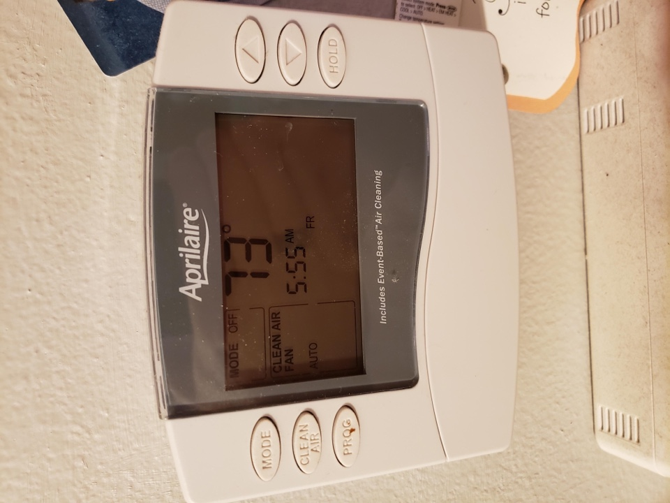 Cedar Hills, UT - Aprilaire thermostat replacement