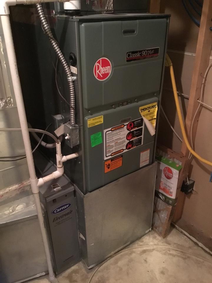 Cedar Hills, UT - Rheem furnace repair