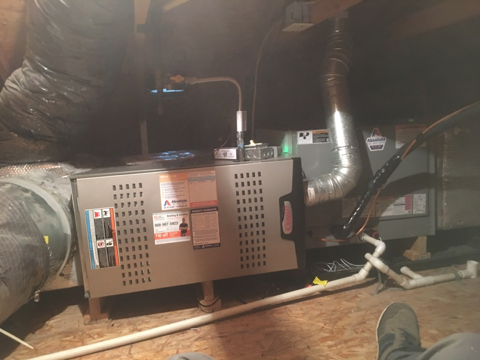 Lindon, UT - New Lennox furnace and air conditioner install