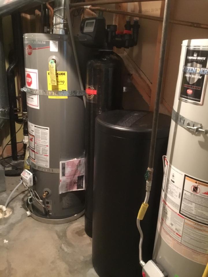 Lindon, UT - New water softener install