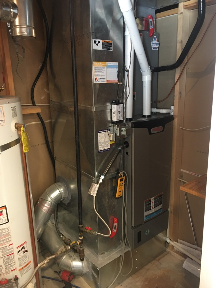 Payson, UT - New Lennox high efficiency furnace and air conditioner install