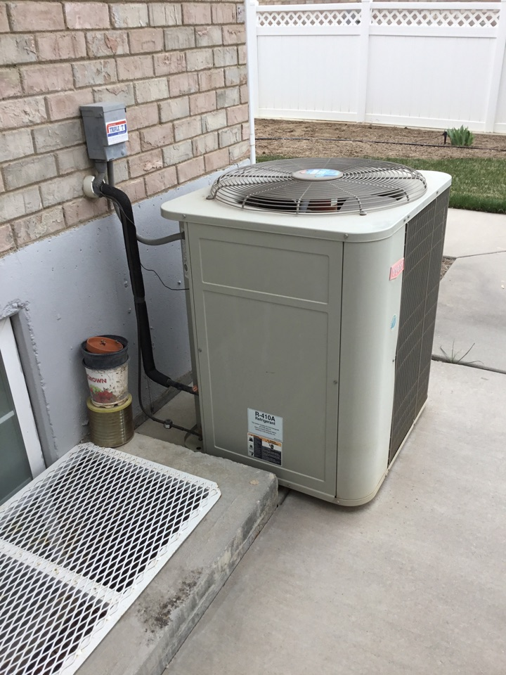 Payson, UT - Bryant furnace and AC tuneup
