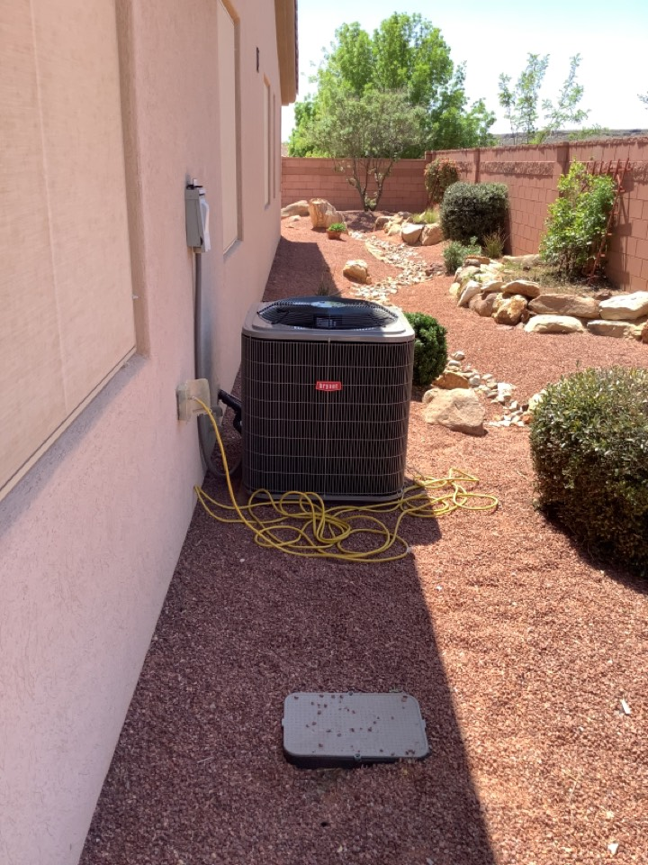 Washington, UT - Two straight ac change out