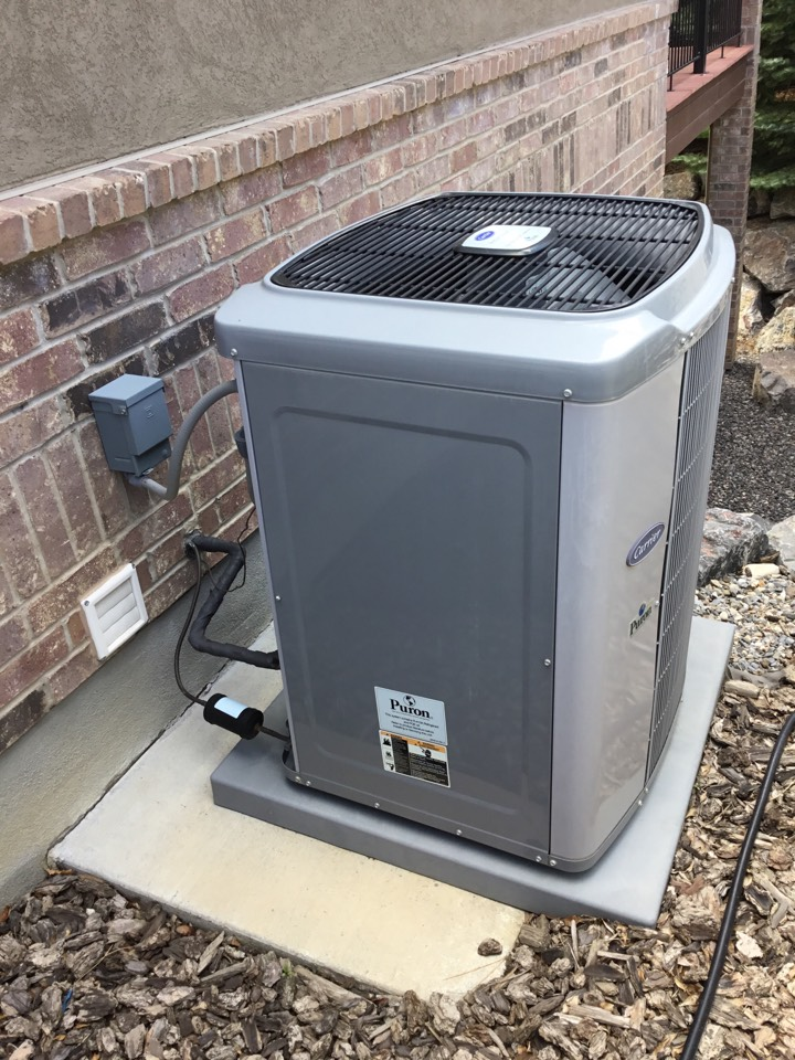 Highland, UT - Carrier furnace and air conditioner tuneup