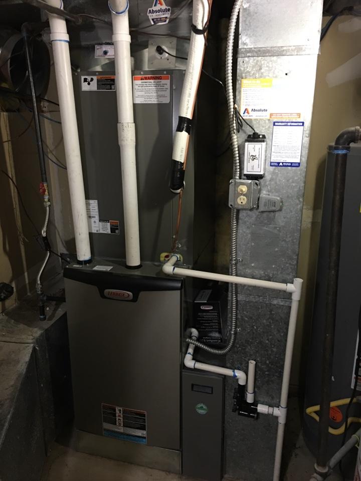 Provo, UT - New Lennox high efficiency furnace and heat pump install