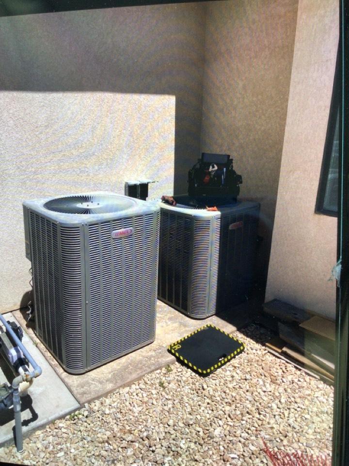 St. George, UT - Lennox Heat pump maintenance