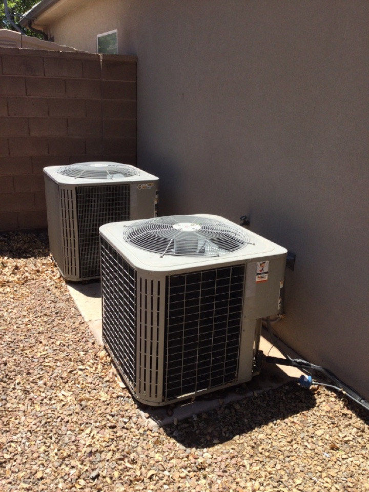 St. George, UT - Maintenance on 3 Bryant air conditioning systems.
