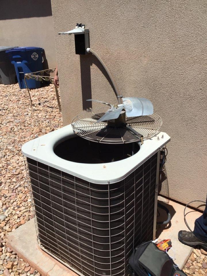 Ivins, UT - Bryant air conditioner diagnostics