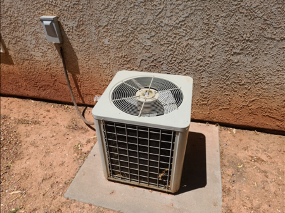 Ivins, UT - Goodman air conditioning and furnace maintenance.