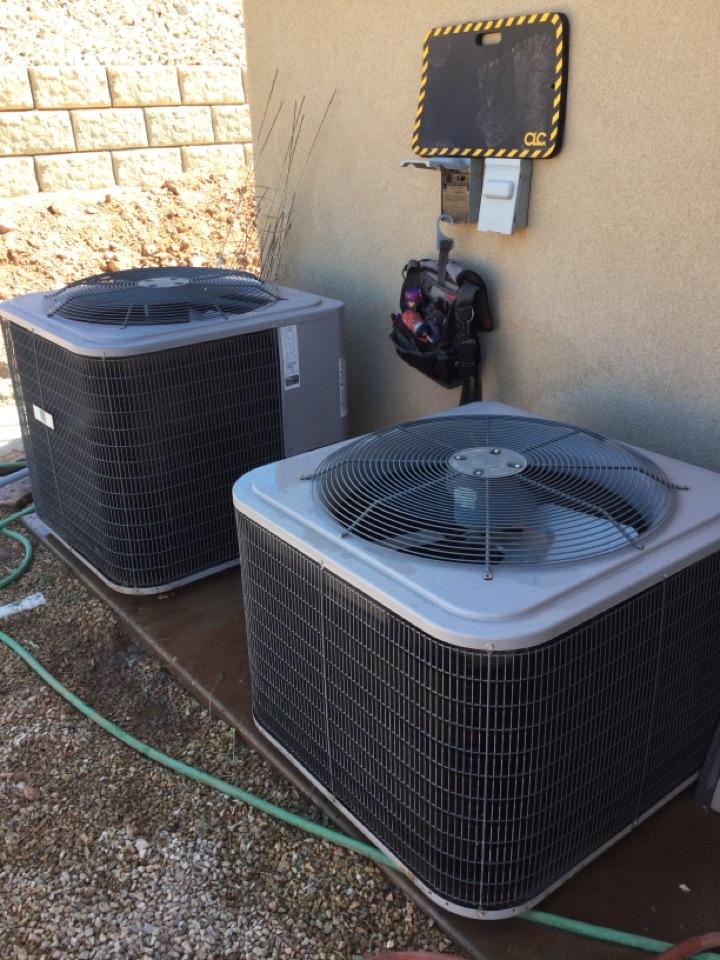 Washington, UT - Maintenance on Day And Night heat pump systems.