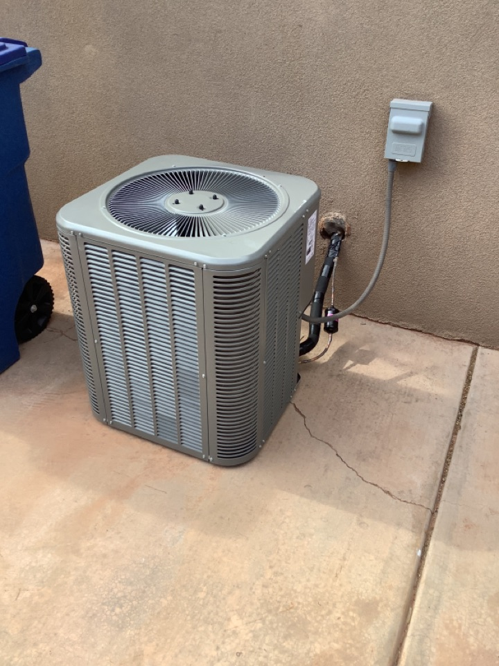 Ivins, UT - 2 straight ac and gas furnace change out