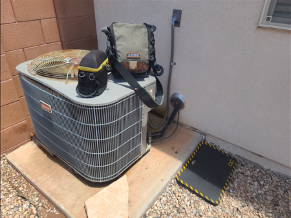 Washington, UT - Maintenance on Coleman air conditioning.
