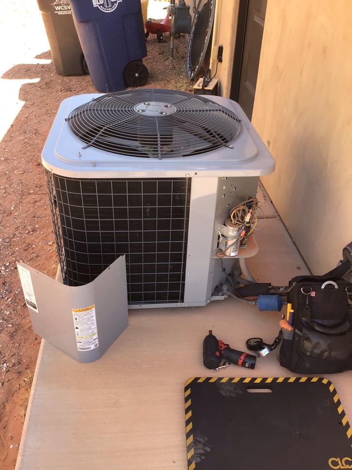 Washington, UT - Day & night air conditioner