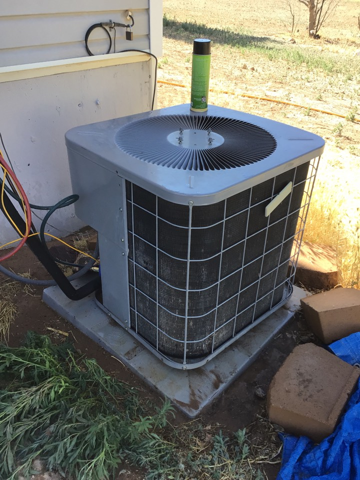 Enoch, UT - 18 year old ICP air conditioner.