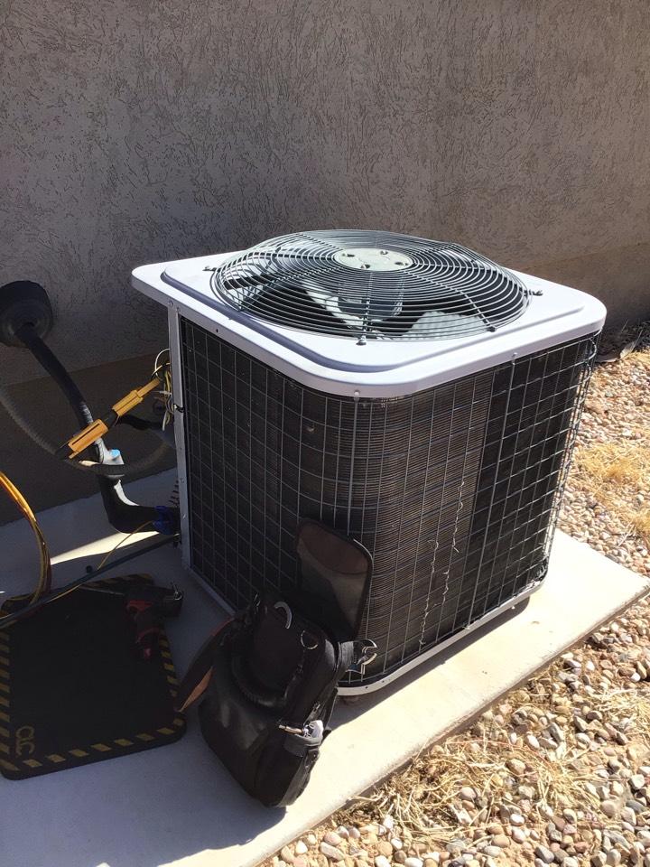 Cedar City, UT - No cool. Bad dual run capacitor