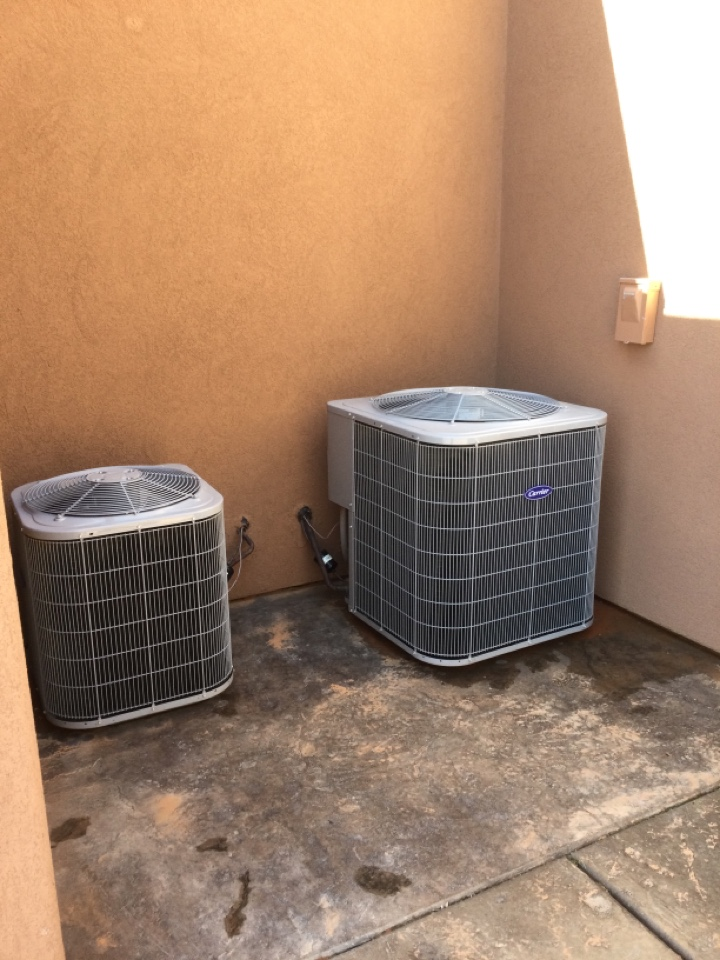 Hurricane, UT - Carrier air conditioning system maintenance.