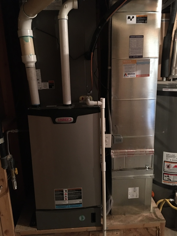 Eagle Mountain, UT - New Lennox high efficiency furnace and air conditioner install