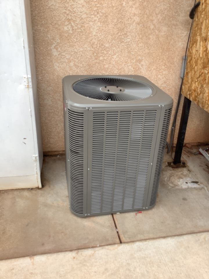 Ivins, UT - Straight ac and furnace change out