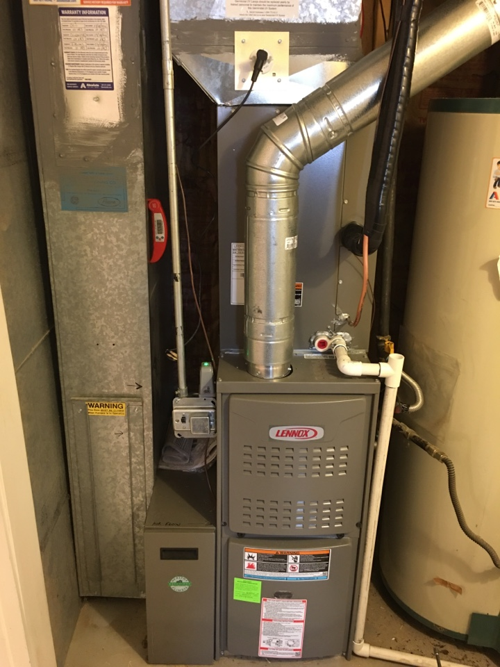 Salt Lake City, UT - New Lennox furnace and air conditioner install