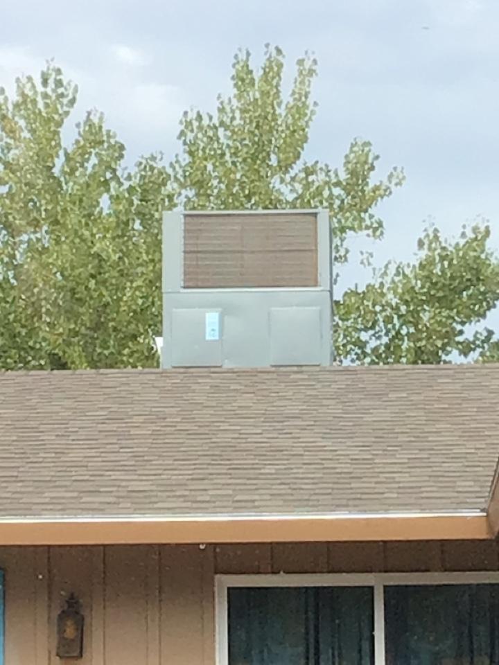 La Verkin, UT - Heat pump roof top unit diag.