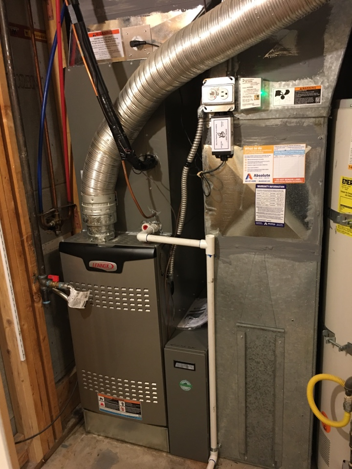Cottonwood Heights, UT - New Lennox furnace and air conditioner install