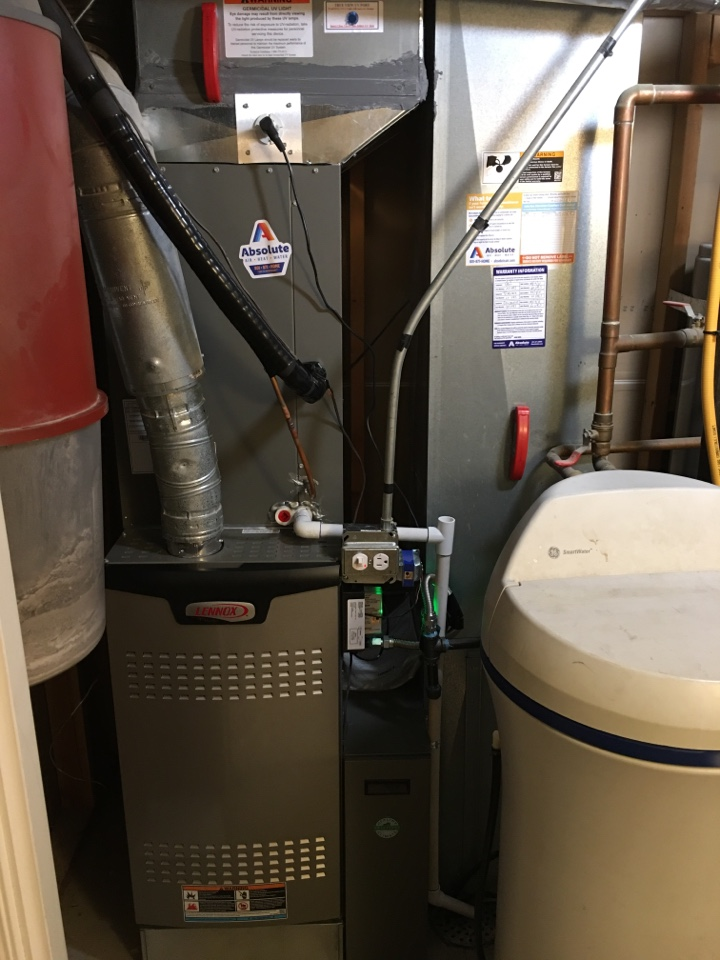 Eagle Mountain, UT - New Lennox furnace and air conditioner install