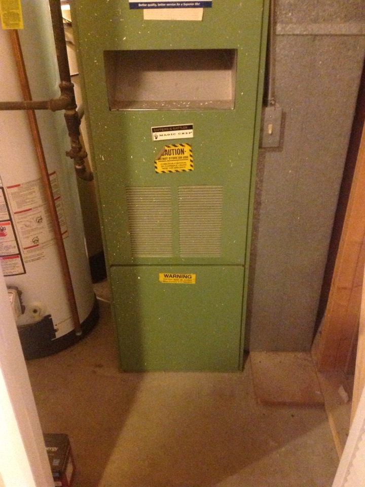 West Valley City, UT - Replace Magic Chef furnace with Air Flow furnace.
