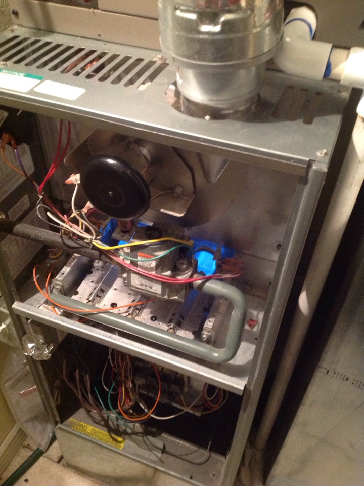 Murray, UT - Rheem 80 % furnace