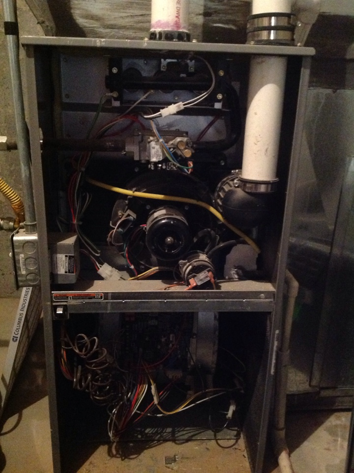 Bluffdale, UT - Furnace tune up, Tempstar system
