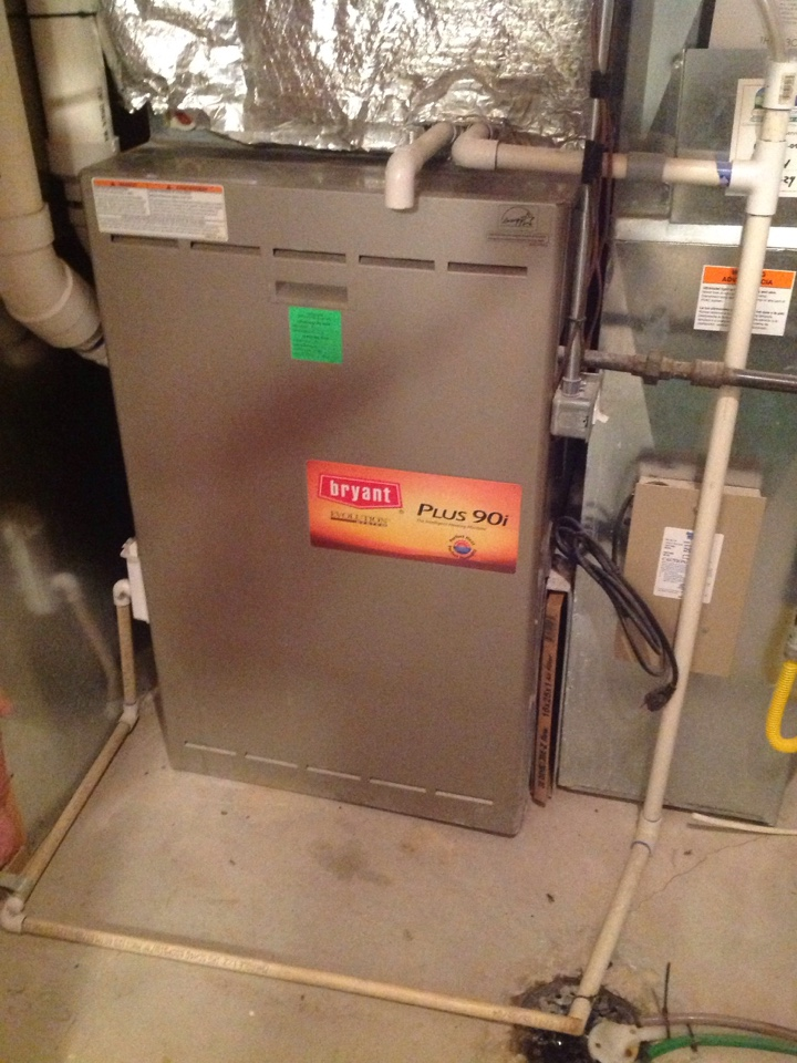 Elk Ridge, UT - Tune up on Bryant furnace