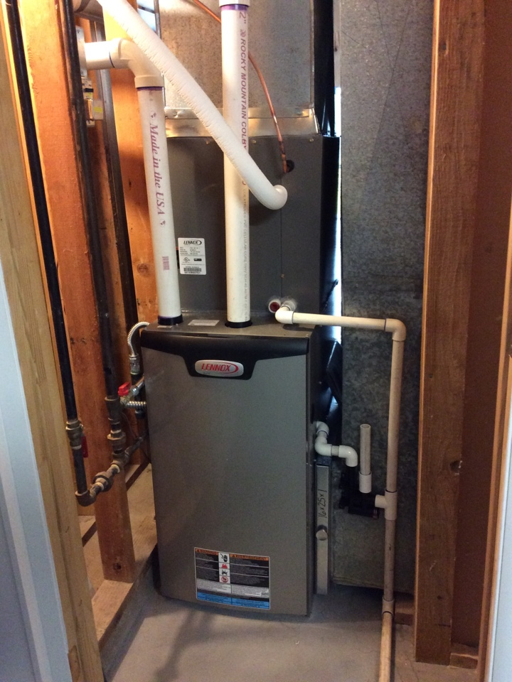 Salt Lake City, UT - Install new Lennox high efficiency furnace and air conditioner