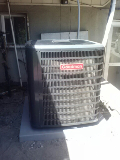 Murray, UT - install Goodman 16 seer 2 stage high efficiency air conditioner