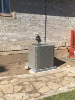 Springville, UT - Install new Lennox 16 SEER Air-conditioner