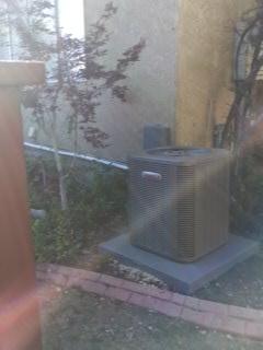 Sandy, UT - Install new Lennox 13 SEER Air-conditioner.