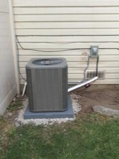 Provo, UT - Install new Lennox 13 SEER Air-conditioner