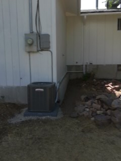 Payson, UT - Install new Lennox 13 SEER Air-conditioner